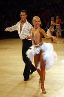 Sergey Sourkov & Agnieszka Melnicka at UK Open 2005
