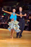 Sergey Sourkov & Agnieszka Melnicka at Dutch Open 2006