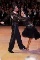 Sergey Sourkov & Agnieszka Melnicka at Blackpool Dance Festival 2009
