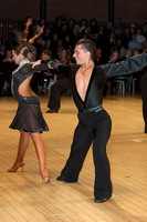 Evgeni Smagin & Rachael Heron at UK Open 2006
