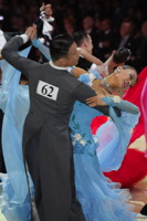 Qing Shui & Yan Yan Ma at Blackpool Dance Festival 2012