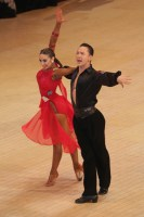Shim Young Eun & Giulia D'Alessandro at Blackpool Dance Festival 2018