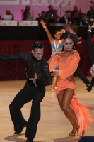 Silvio Antonio Anselmi & Eleonora Riccardi at Blackpool Dance Festival 2018