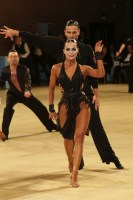 Nino Langella & Andra Vaidilaite at UK Open 2019