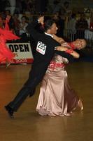 Roberto Villa & Morena Colagreco at 19th Feinda - Italian Open 2002