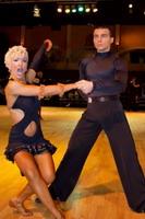 Dorin Frecautanu & Roselina Doneva at Dutch Open 2006