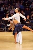 Dorin Frecautanu & Roselina Doneva at UK Open 2007