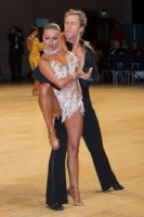 James Jordan & Aleksandra Jordan at UK Open 2006