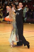 Mark Elsbury & Olga Elsbury at International Championships 2009