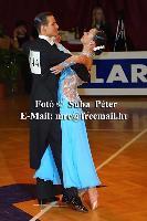 Mark Elsbury & Olga Elsbury at Slovenian Open 2004