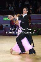 Mark Elsbury & Olga Elsbury at 50th Elsa Wells International Championships 2002