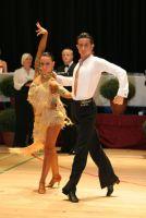 Andrea Silvestri & Martina Váradi at International Championships 2008