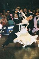 Federico Di Toro & Genny Favero at 15th German Open 2001