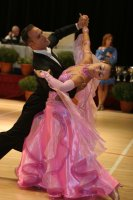 Victor Buenavida & Petra Cernakova at International Championships 2008
