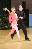 Ferdinando Iannaccone & Yulia Musikhina at UK Open 2019