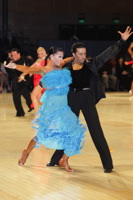 Fabio Modica & Tinna Hoffmann at UK Open 2012
