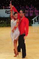 Emanuele Soldi & Elisa Nasato at UK Open 2012