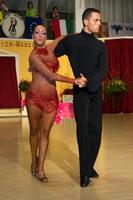Emanuele Soldi & Elisa Nasato at 4th Tisza Part Open - Hungary 2005