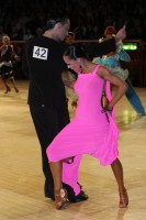 Emanuele Soldi & Elisa Nasato at International Championships 2012