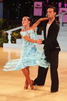 Emanuele Soldi & Elisa Nasato at UK Open 2013