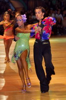 Emanuele Soldi & Elisa Nasato at Dutch Open 2006