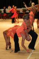 Miles Chapman & Lorna Arnold at International Championships 2008