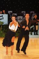 Alessandro Camerotto & Nancy Berti at UK Open 2012