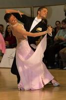 Mauro Favaro & Angelina Shabulina at 4th Tisza Part Open - Hungary 2005