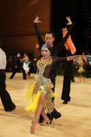 Ke Qiang Shao & Na Yang at UK Open 2011