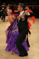 Grant Barratt-thompson & Mary Paterson at International Championships 2008