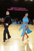 Denys Drozdyuk & Antonina Skobina at UK Open 2012