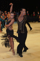 Joshua Keefe & Sara Magnanelli at UK Open 2012
