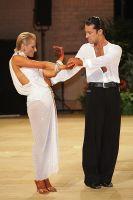 Joshua Keefe & Sara Magnanelli at UK Open 2010