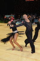 Jonas Kazlauskas & Jasmine Chan at UK Open 2012