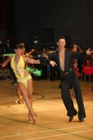 Jonas Kazlauskas & Jasmine Chan at International Championships 2008