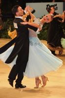 Luke Miller & Hanna Cresswell-Melstrom at UK Open 2013
