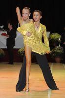 Luke Miller & Hanna Cresswell-Melstrom at International Championships 2009