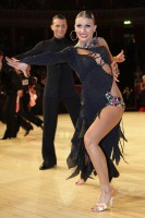 Evgeni Smagin & Polina Kazatchenko at International Championships 2012