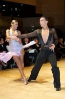 Evgeni Smagin & Polina Kazatchenko at UK Open 2008
