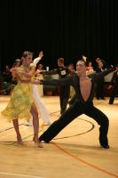 Evgeni Smagin & Polina Kazatchenko at International Championships 2008