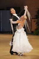 Arunas Bizokas & Katusha Demidova at UK Open 2011