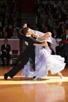 Arunas Bizokas & Katusha Demidova at International Championships 2012