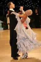 Arunas Bizokas & Katusha Demidova at UK Open 2009