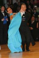 Sergei Konovaltsev & Olga Konovaltseva at UK Open 2005