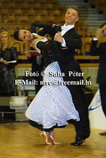 Sergei Konovaltsev & Olga Konovaltseva at IDSF European Standard Championships 2004
