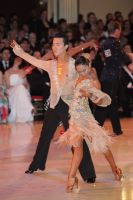 Lu Ning & Jasmine Ding Fang Zhang at Blackpool Dance Festival 2011
