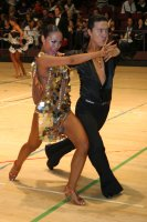 Lu Ning & Jasmine Ding Fang Zhang at International Championships 2008