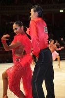 Lu Ning & Jasmine Ding Fang Zhang at International Championships 2009