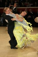 Christopher Short & Elisa Chanaa at International Championships 2008