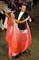 Andrew Escolme & Amy Louise Baker at  IDTA MIDLAND OPEN CHAMPIONSHIPS